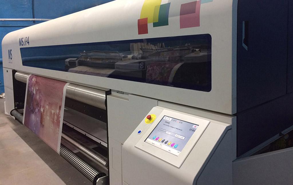Цифровая печатная машина для прямой печати на текстиле с шириной до 3200 мм MS JP4 3200