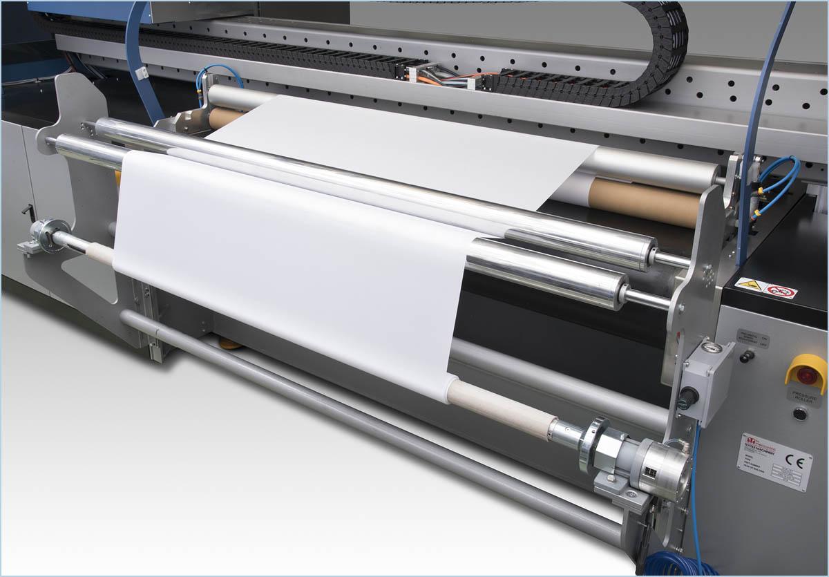 Принтер Mimaki Tiger-1800В MkII, вид сзади