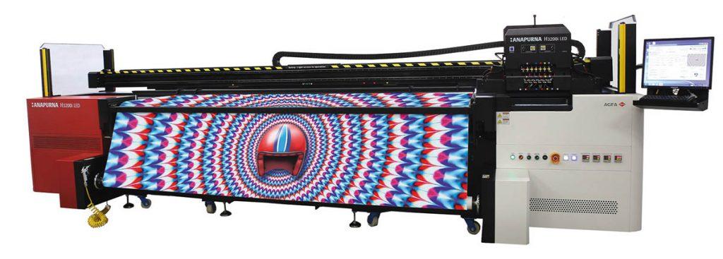 светодиодный струйный УФ-принтер Anapurna H3200i