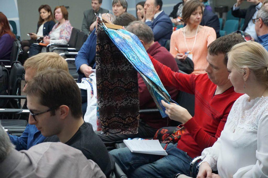 Впечатляющий цифровой текстиль.