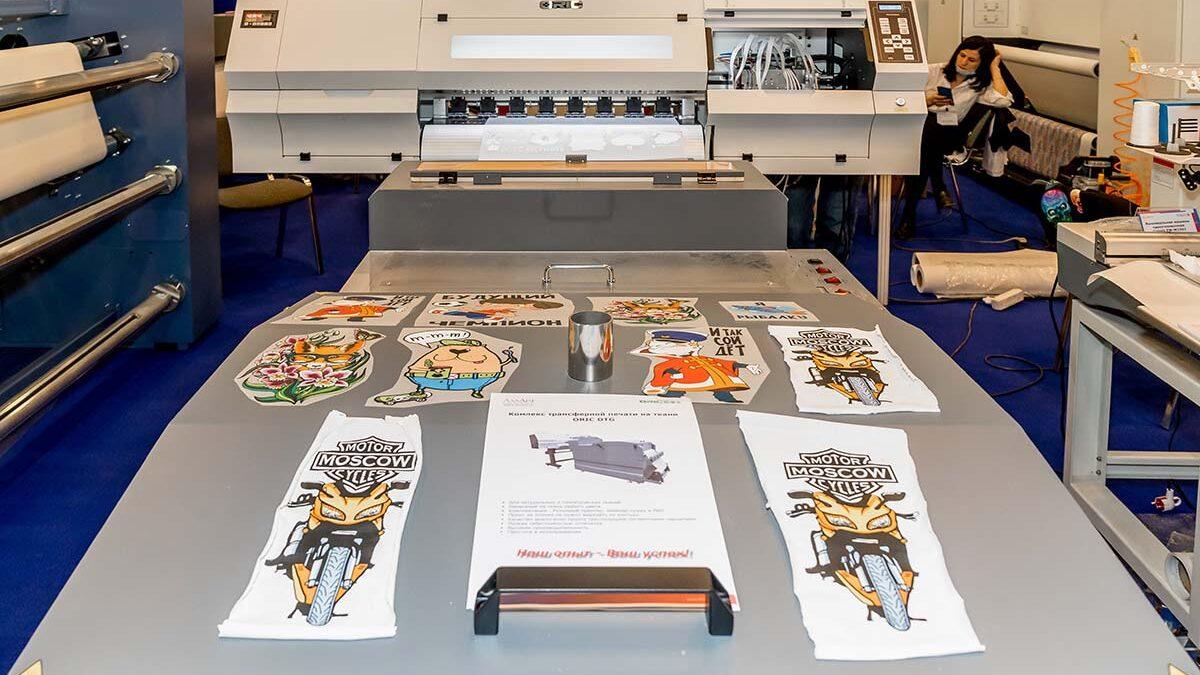 Комплекс Oric DTF для трансферной печати на натуральных и синтетических тканях