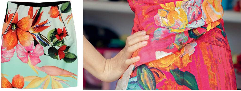 Образцы печати чернилами Sun Chemical серии Xennia Emerald и ElvaJet серии S