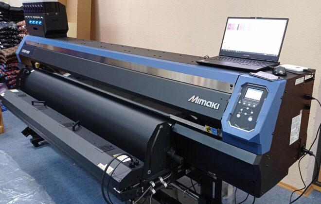 Принтер Mimaki на текстильном производстве